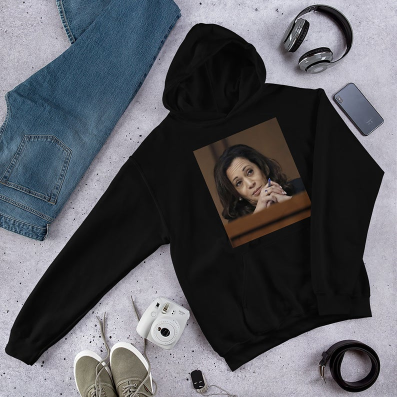 Kamala Harris Photo Hoodie