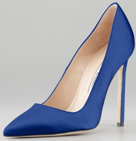 Manolo Blahnik BB Satin 105mm