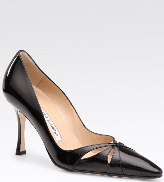Manolo Blahnik 'Butterflymo' Cutout Pumps
