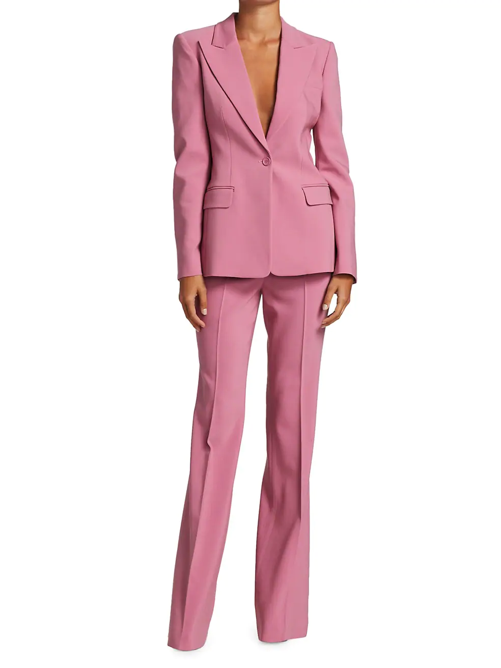 Michael Kors Collection Jacket + High-Rise Pants