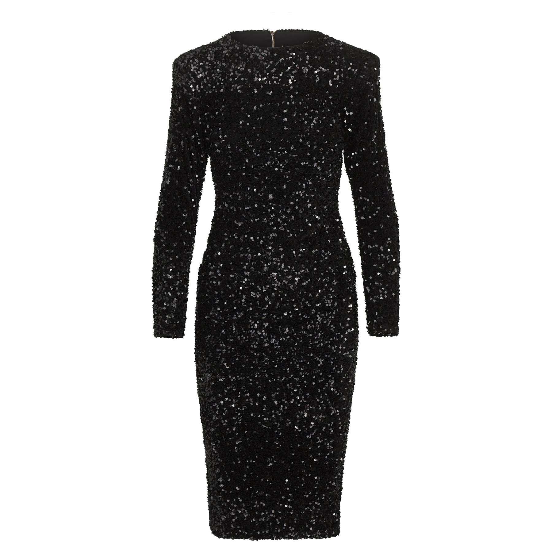 Sergio Hudson Bespoke Sequin Dress