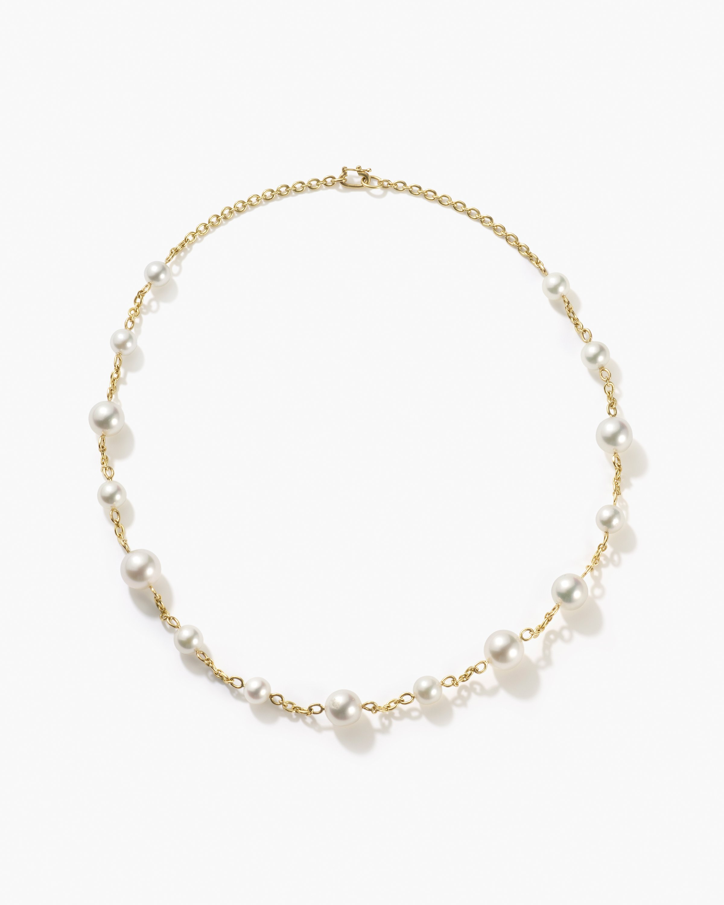 Irene Neuwirth Gumball Link Pearl Necklace