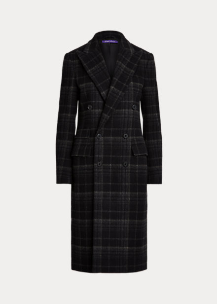 Ralph Lauren Collection Plaid Coat