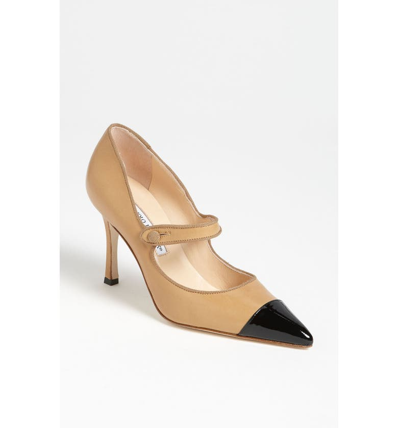 Manolo Blahnik Cap Toe Pump